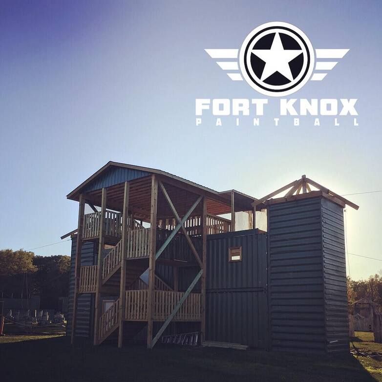 3 level skydeck fort knox paintball